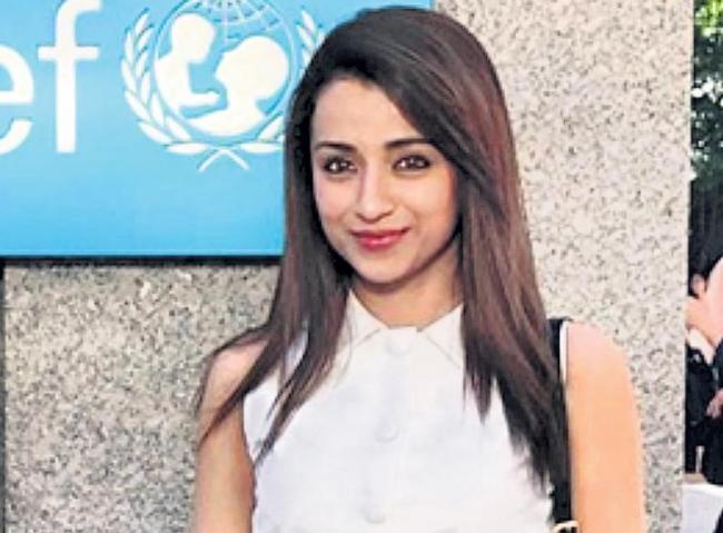 trisha new movie raangi movie launch - Sakshi