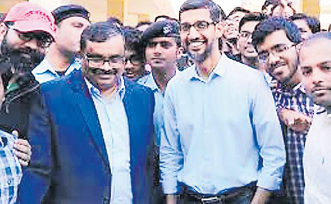 Sundar Pichai Really Cast His Vote In Tamil Nadu ? - Sakshi