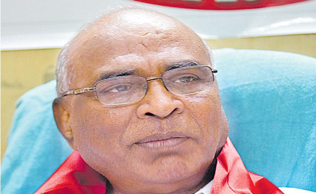 Nayim Conduct an investigation into Irregularities Says chada venkat reddy - Sakshi