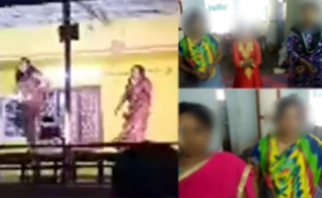 11 held for indecent dances in west godavari district - Sakshi