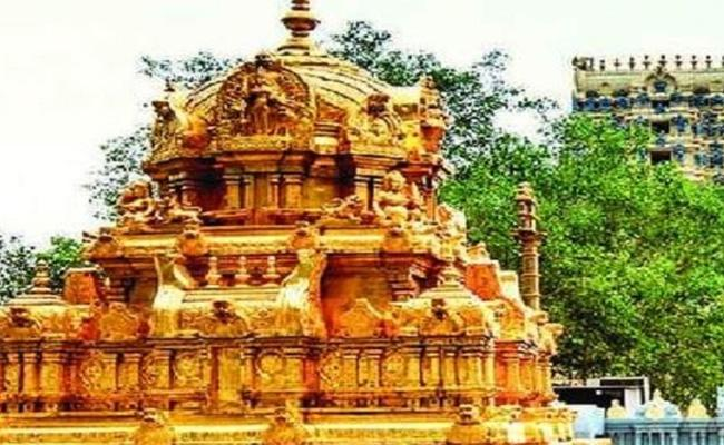 TDP Delayed on Durga Temple Land - Sakshi