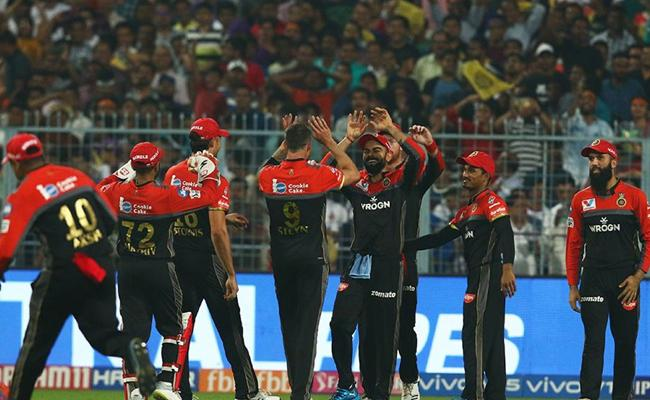 IPL 2019 RCB Beat KKR By 10 Runs At Eden Garden Kolkata - Sakshi