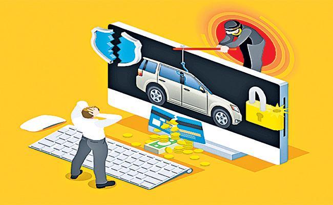 OLX Cyber Criminals in Rajasthan - Sakshi