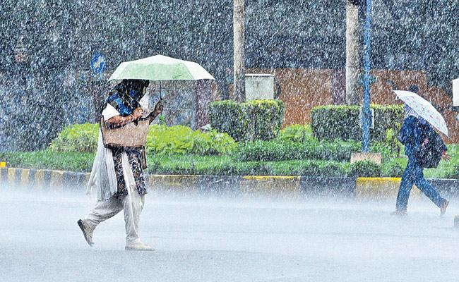 Rains To Hit In Telangana Next Three Days - Sakshi