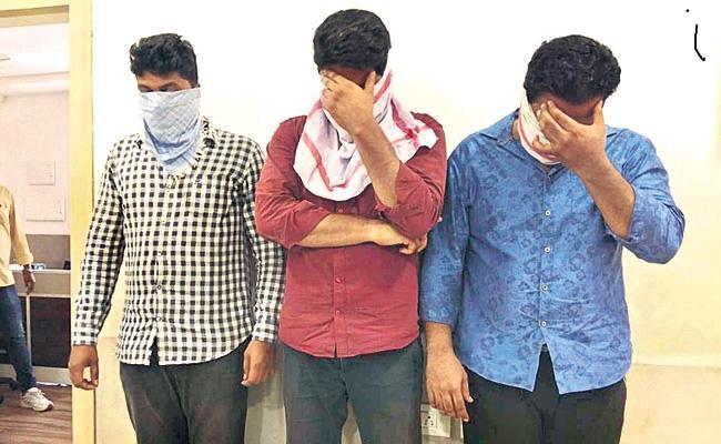 Three Arrest in Married Women Molestation Case - Sakshi