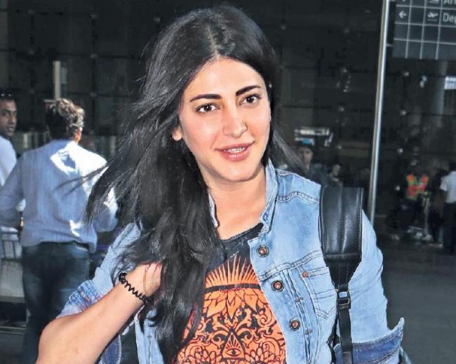 Need to get rid of stress says shruti hassan - Sakshi
