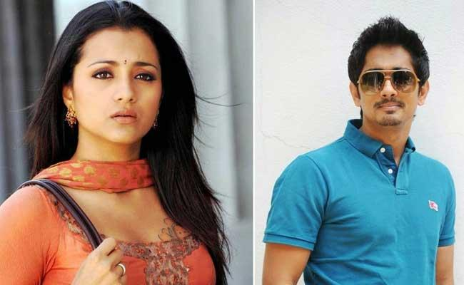 Siddharth And Trisha May Act In Andhadhun Remake - Sakshi