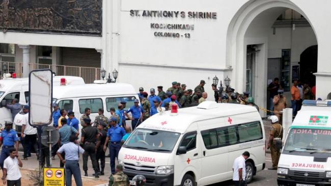 President Ram Nath Kovind  PM Narendra Modi condemn Sri Lanka multiple blasts - Sakshi