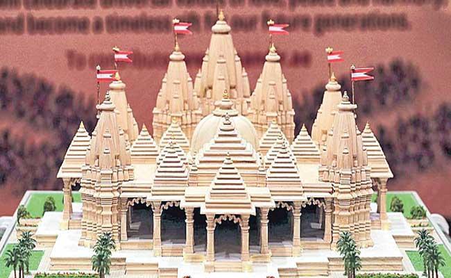 First Hindu Temple In Abu Dhabi - Sakshi