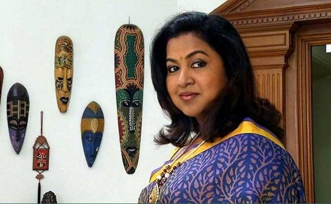 Radhika Sarathkumar Tweets About Bomb Blast In Sri Lanka - Sakshi