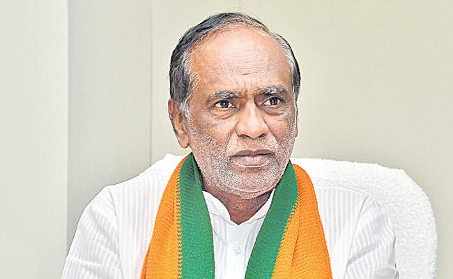 BJP wants Central Election Commission to Postpone MPTC and ZPTC - Sakshi