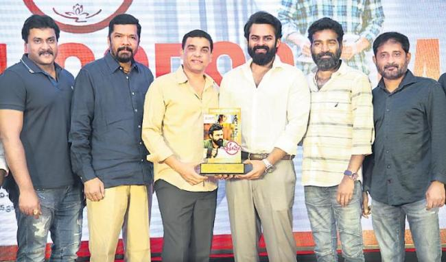 chitralahari movie success meet - Sakshi