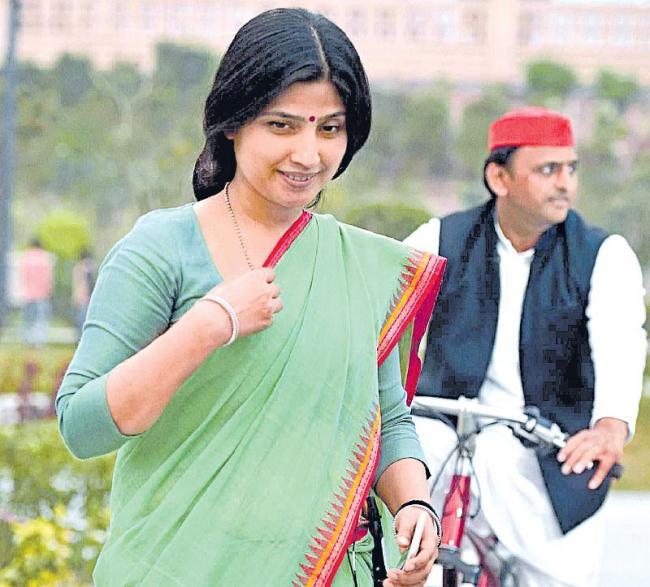 Dimple Yadav's 30-year old record - Sakshi