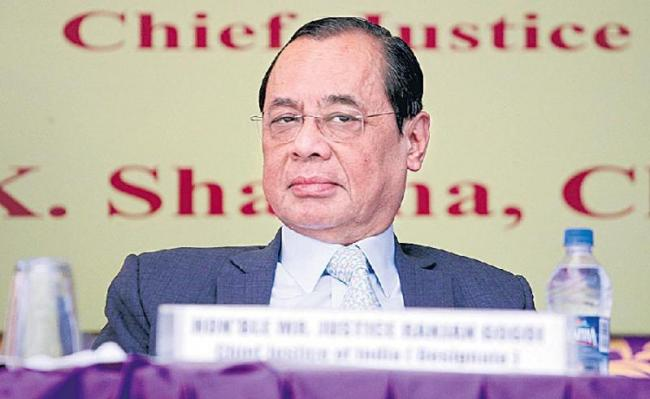 Harassment allegations against CJI Ranjan Gogoi - Sakshi