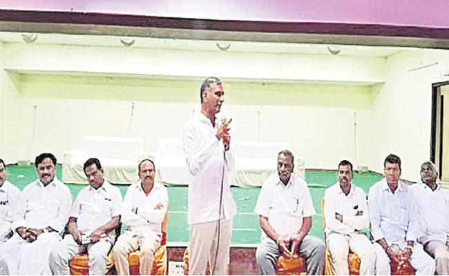Siddipet Is Name For Unity Says Harish Rao - Sakshi