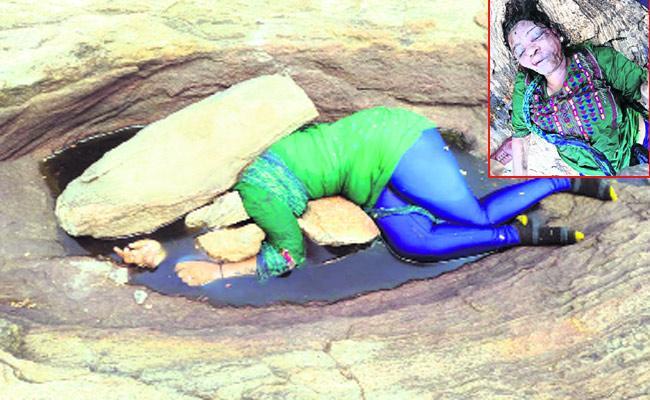 Woman Murdered In Forest Area In Karnataka - Sakshi