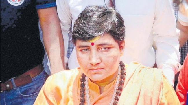 RSS pushed Pragya Thakur for Bhopal battle - Sakshi