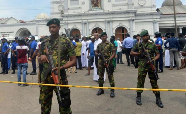 Sri Lanka On High Alert After Multiple Blasts  - Sakshi