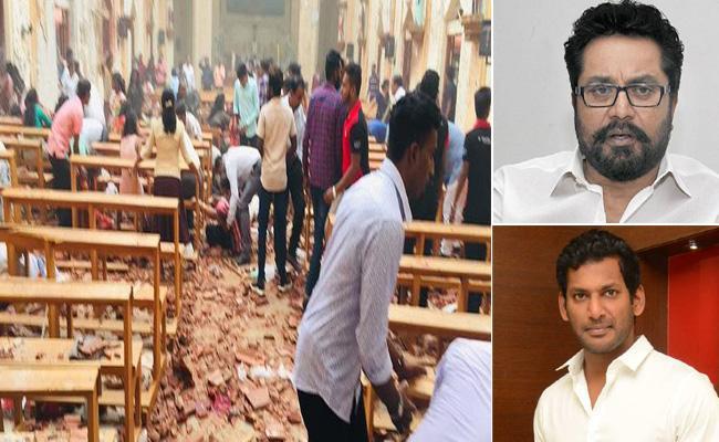 Tamil Artists Responds On Colombo Bomb Attacks - Sakshi