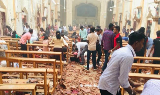 Multiple explosions in Sri Lanka - Sakshi