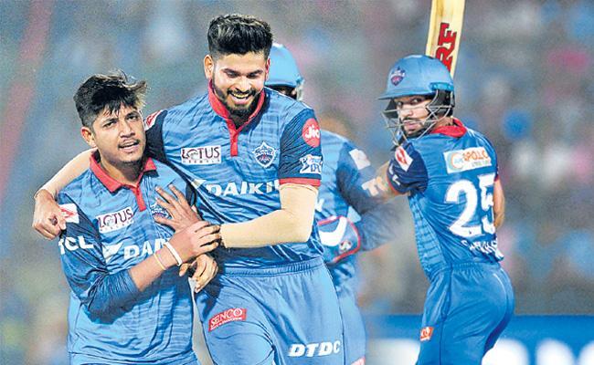 IPL 2019 Delhi Capitals Beat Punjab By 5 Wickets - Sakshi