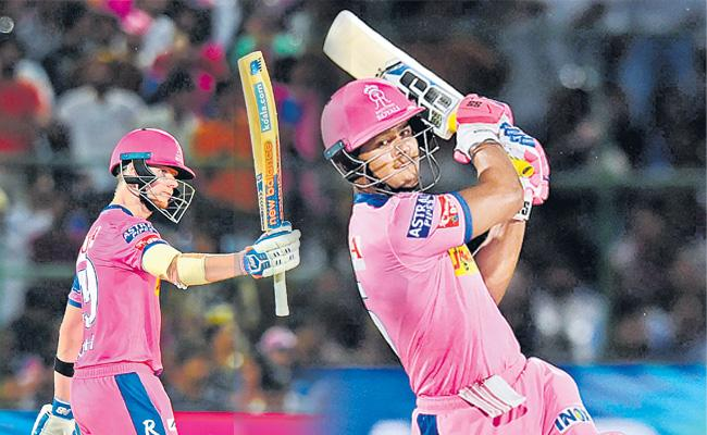 Captain Smith guides Rajasthan Royals to third win - Sakshi