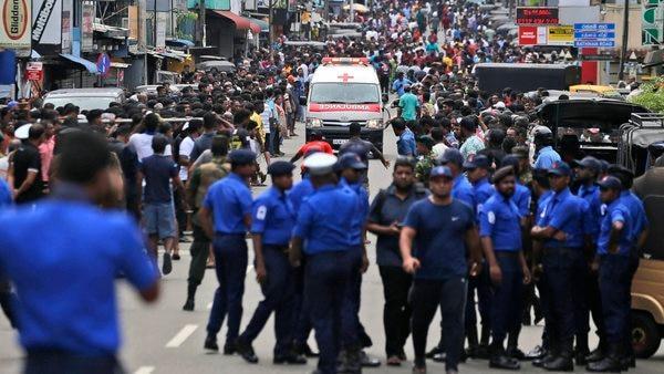 Seventh explosion rocks Sri Lankan capital - Sakshi