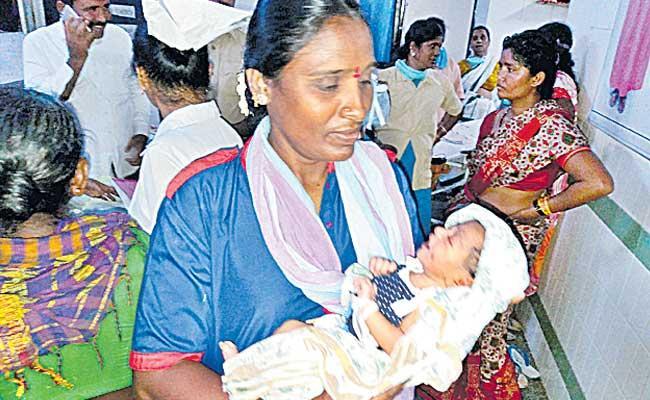 Baby Kidnap Rumars In Gandhi Hospital - Sakshi