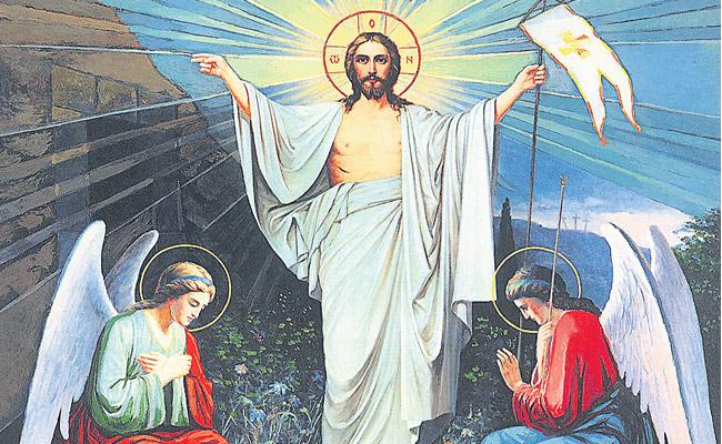 On The Eve of Easter Jesus Christ first Appeared - Sakshi
