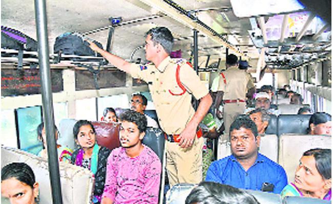 ZPTC MPTC Elections Extra Burden On Police - Sakshi