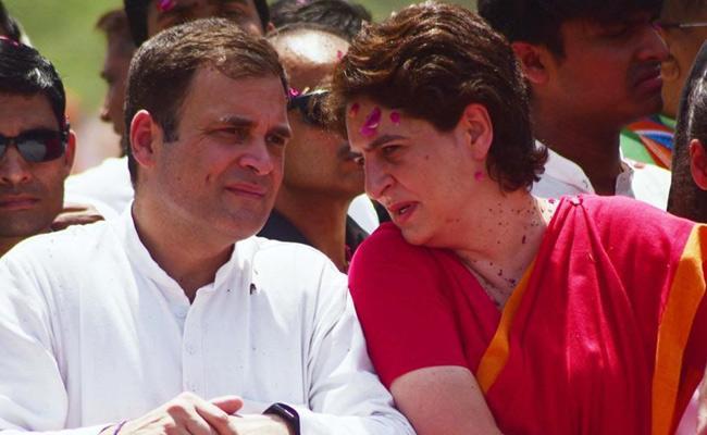 I Will Be Happy To Contest From Varanasi If Rahul Asks Said By Priyanka - Sakshi