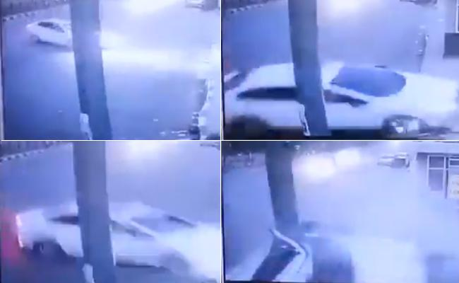 Fatal car crash in Delhi video goes Viral - Sakshi