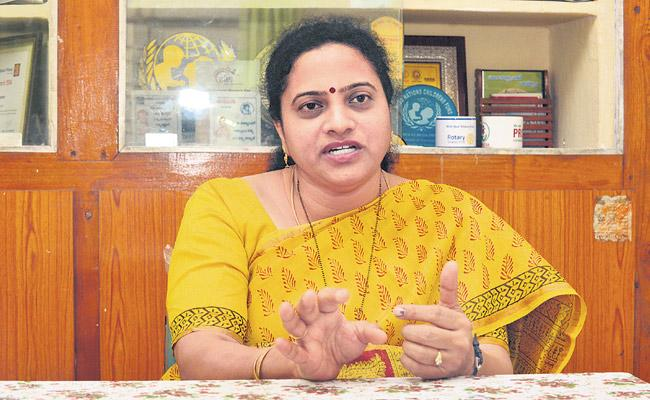 Mamata Raghuveer Fight Against Child Marriages  - Sakshi