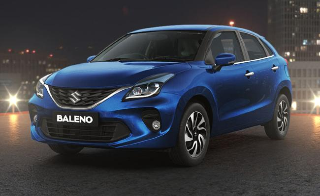 MarutiLaunches Baleno with BS-VI, Smart Hybrid Technology   - Sakshi
