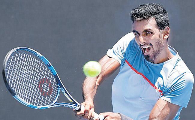Prajnesh Gunneswaran loses in Kunming Open Final - Sakshi