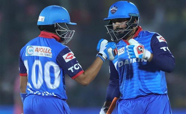 IPL 2019 Delhi Capitals Beat Rajasthan Royals By 6 Wickets - Sakshi