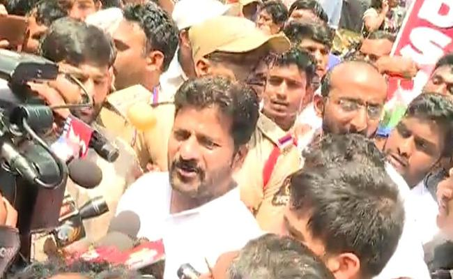 Revanth Reddy Demanded Government Take Action On Telangana Intermediate Board Officials - Sakshi