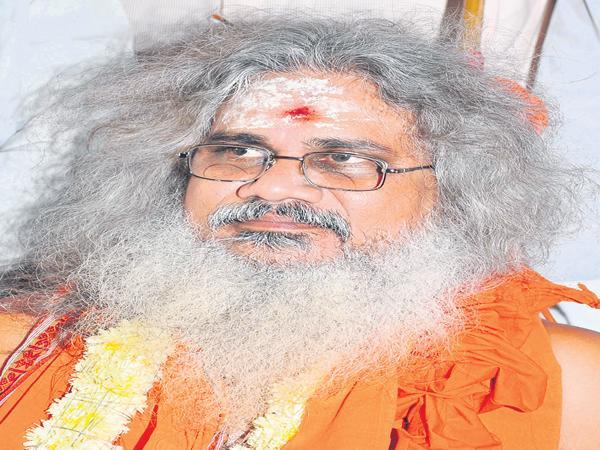Swami Kamalananda Bharati Demands CBI Investigation On TTD Gold Issue - Sakshi
