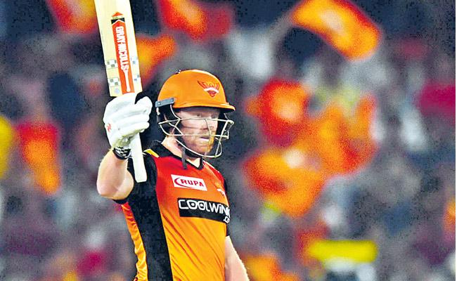 Sunrisers Win with 9 wickets Against Kolkata - Sakshi