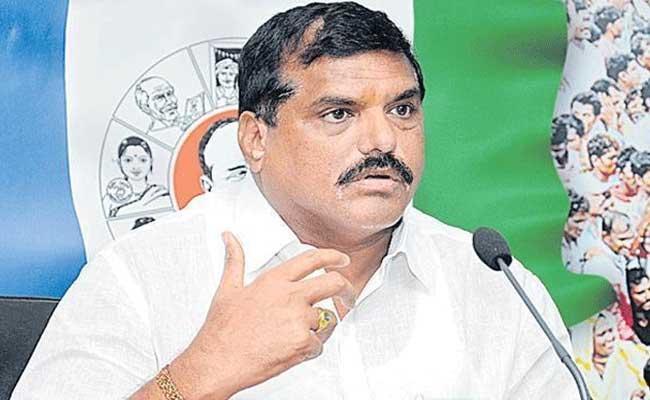 Botsa Satyanarayana Slams CM Chandrababu Naidu - Sakshi