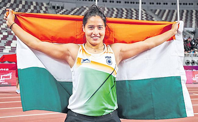 Javelin thrower Annu Rani And Steeplechaser Avinash Sable clinch silver medals - Sakshi