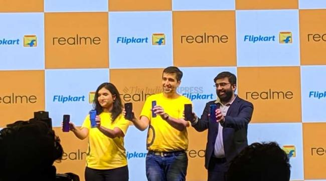 Realme 3 Pro Launchede  in India Today - Sakshi