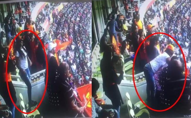 6 Held for misbehaving During IPLMatch - Sakshi
