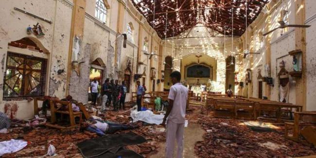 Islamic State Claims Responsibility For SriLanka Bombings - Sakshi