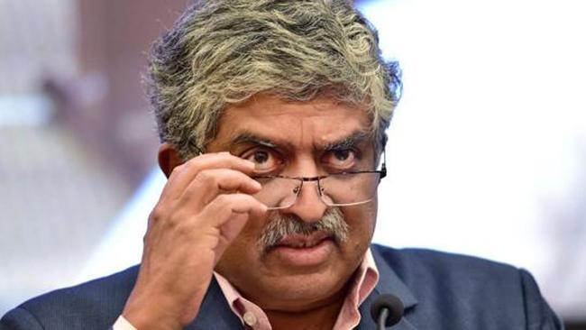 Nandan Nilekani Says Aadhaar Just An ID - Sakshi