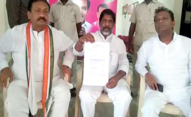Mallu Bhatti Vikramarka Meets Speaker In Banswada - Sakshi