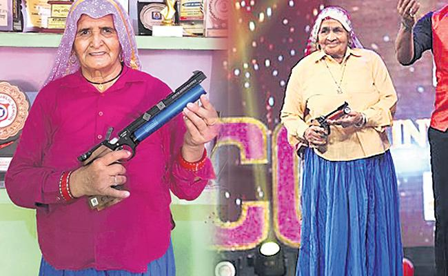 Sharp shooters at the age of 80 in Uttar Pradesh - Sakshi