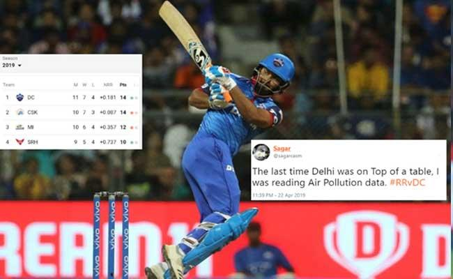 Delhi Capitals Climb to the Top Spot on IPL Points Table and Fans are in Disbelief - Sakshi