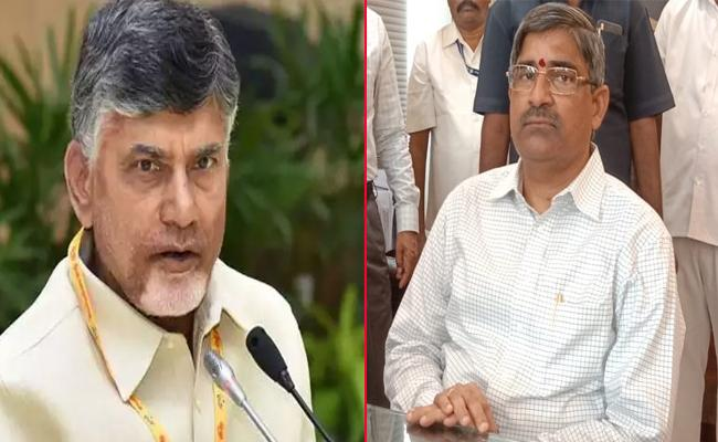 AP IAS Association Meet Over Chandrababu Objectionable Comments - Sakshi