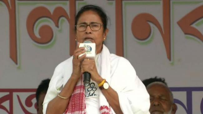 Mamata Banerjee Claims Central Forces Asking People To Vote For BJP In West Bengal - Sakshi